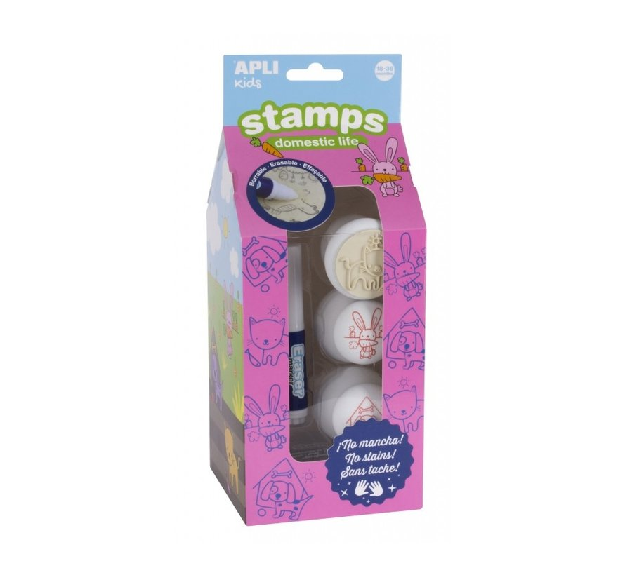 Stamps Domestic Life