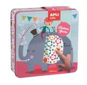 APLI Stickerspel in Blik Party Animals