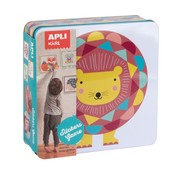 APLI Stickers Game Animals