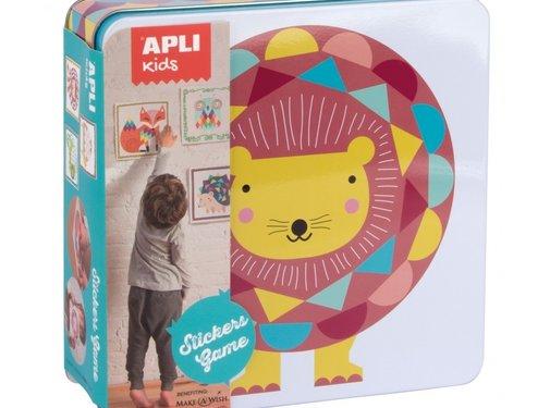 APLI Stickers Game Animals