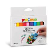 Primo Kneedklei 10 kleuren (10x18gr)