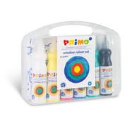 Primo Raamverf in fles (6x75ml) accessoires in box