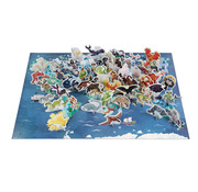 Janod Reuzenpuzzel Educatief Mythes en Legendes 350 pcs