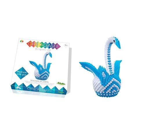 Creagami Origami Swan 3D M