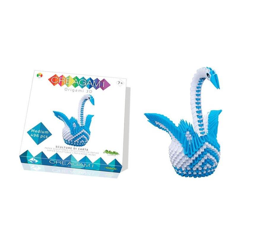 Origami Zwaan 3D M