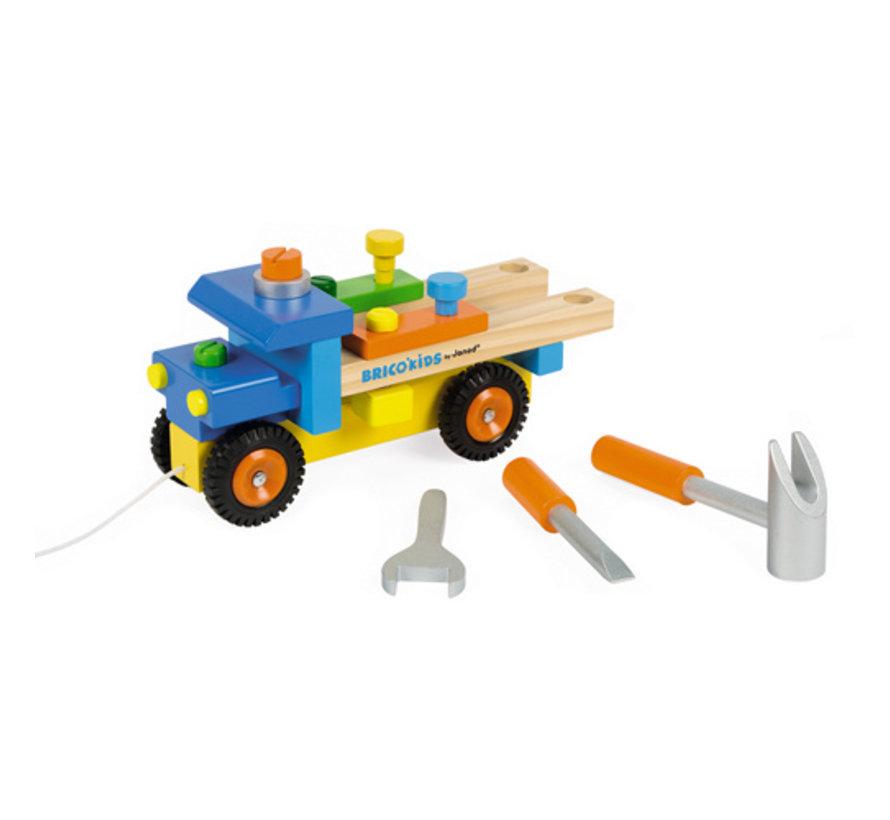 Vrachtwagen Motoriek Hout