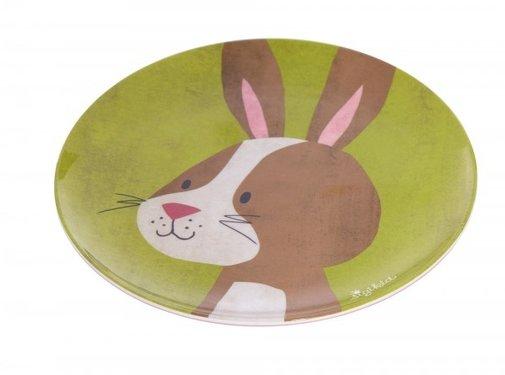 sigikid Melamine plate dog Rabbit