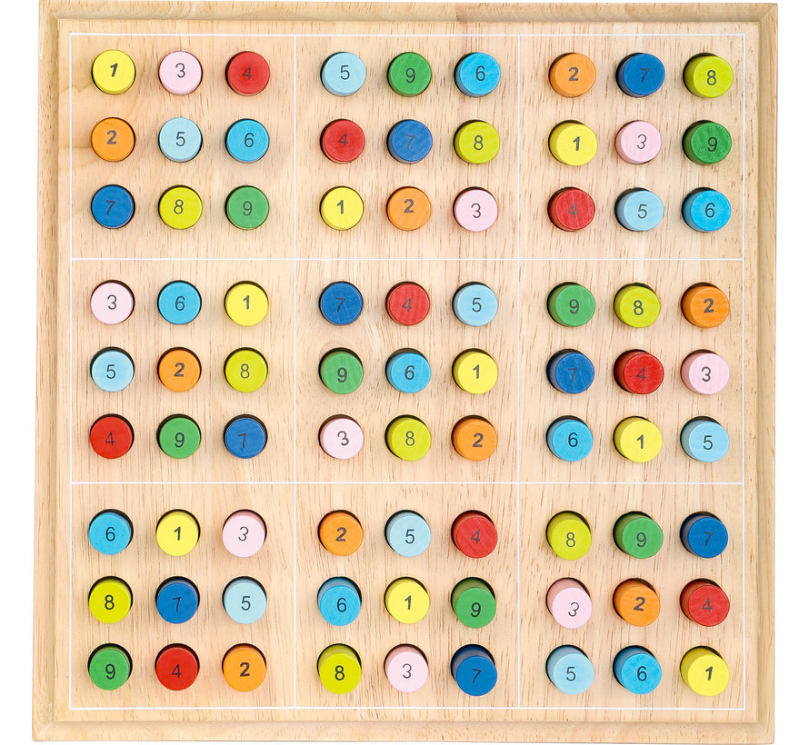 Colourful Sudoku Colored