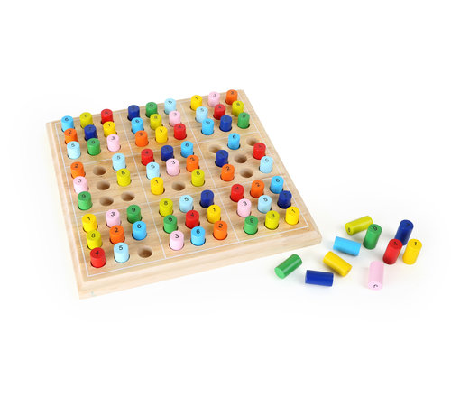 Small Foot Colourful Sudoku Colored
