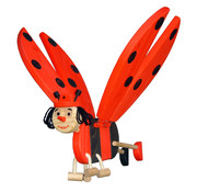 Van Dijk Toys Zweeffiguur Lieveheersbeestje