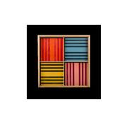 Kapla 100 Octocolor 8-kleuren assorti Houten Box
