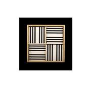 Kapla 100 Zwart Wit Houten Box