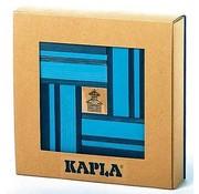 Kapla 40 Nr 21 Licht/Donkerblauw met Boek in Geschenkdoos