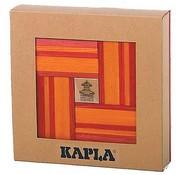 Kapla 40 Nr 22 Rood/Oranje met Boek in Geschenkdoos