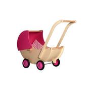 Van Dijk Toys Poppenwagen Roze Beweegbare Kap