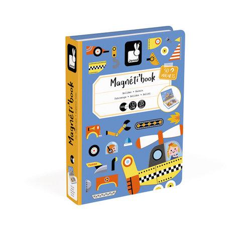 Janod Magneetboek Voertuigen