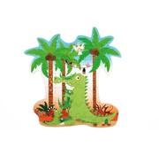 Scratch Contour Puzzel Dino 36 pcs