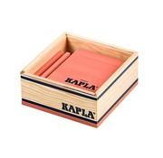 Kapla 40 Roze in Houten Kistje