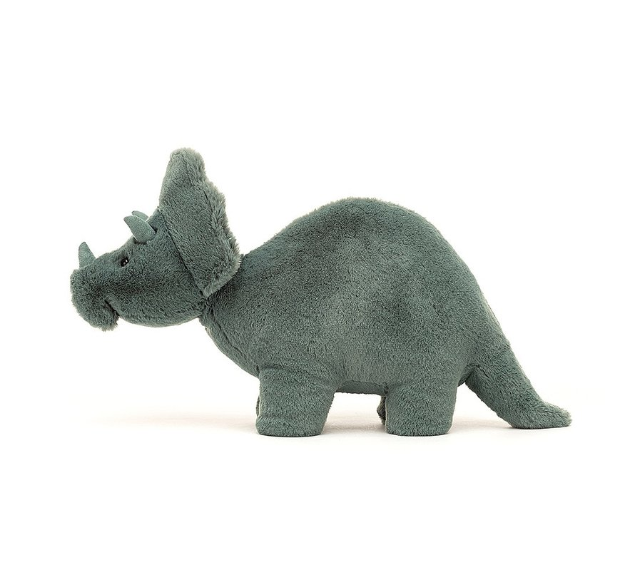 Knuffel Dino Fossilly Triceratops