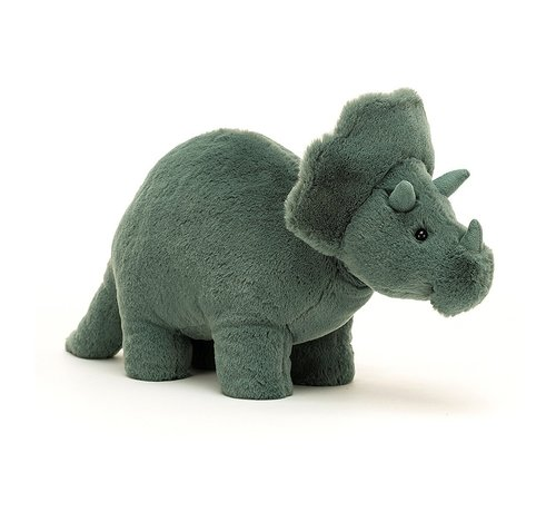 Jellycat Knuffel Dino Fossilly Triceratops