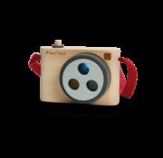 PlanToys Camera met Kleurlens Hout