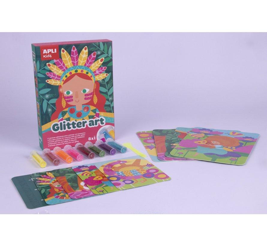 Plakvellen Glitter Art