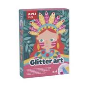 APLI Plakvellen Glitter Art