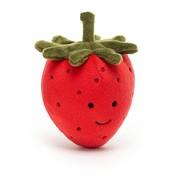 Jellycat Knuffel Fruit Aardbei Fabulous Fruit Strawberry