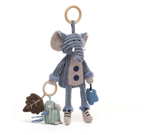 Jellycat Cordy Elephant Activity Toy
