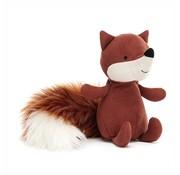 Jellycat Knuffel Vos Suedetta Fox
