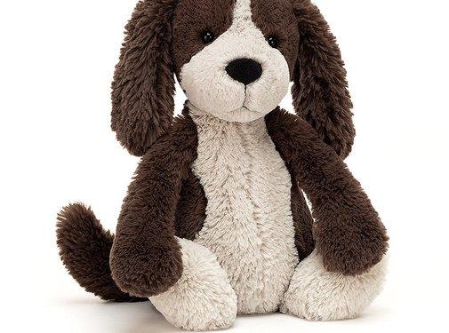 Jellycat Knuffel Hond Bashful Fudge Puppy