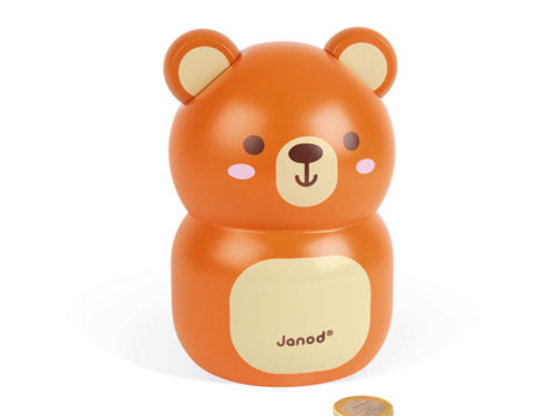 Janod Bear Moneybox