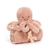 Jellycat Knuffeldoek Inktvis Odell Octopus Soother