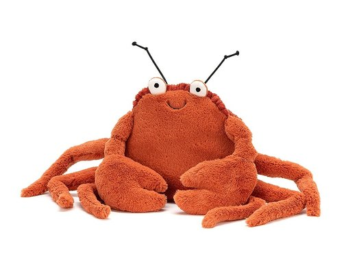 Jellycat Knuffel Krab Crispin Crab Small