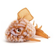 Jellycat Knuffel Vis Grumpy Fish Orange