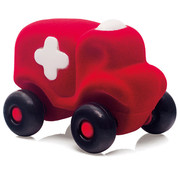 Rubbabu Ziekenauto Rood Klein