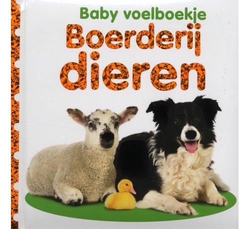 Veltman Uitgevers Baby voelboekje Boerderijdieren