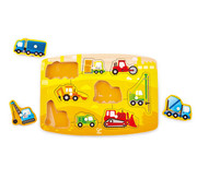 Hape Puzzel Bouw Construction Peg