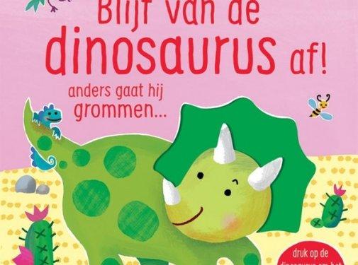 Uitgeverij Usborne Blijf van de dinosaurus af!