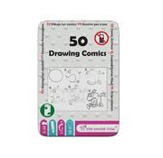 The Purple Cow Drawing Comics