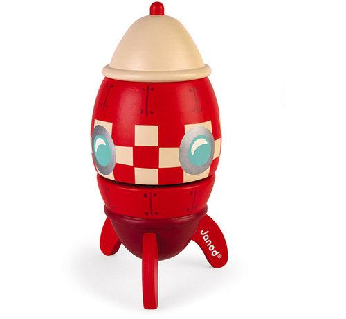 Janod Music Box Rocket Ship