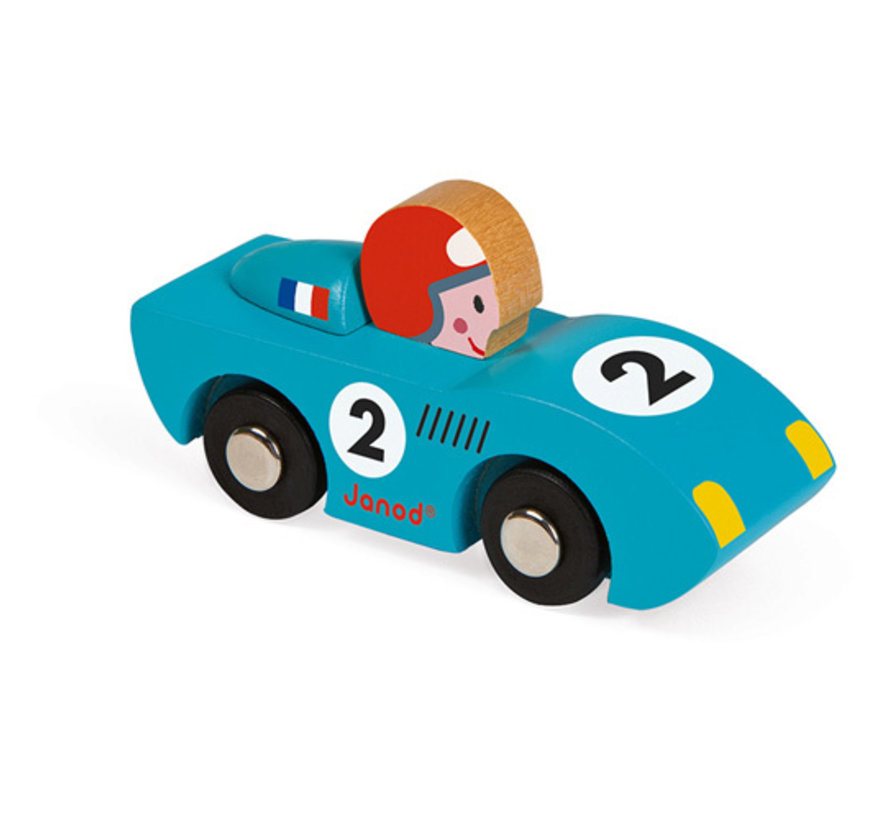 Race Auto Story Rood of Blauw Hout