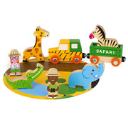 Janod Safari Story Set Hout