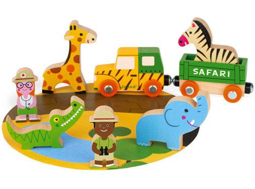 Janod Safari Story Set Hout