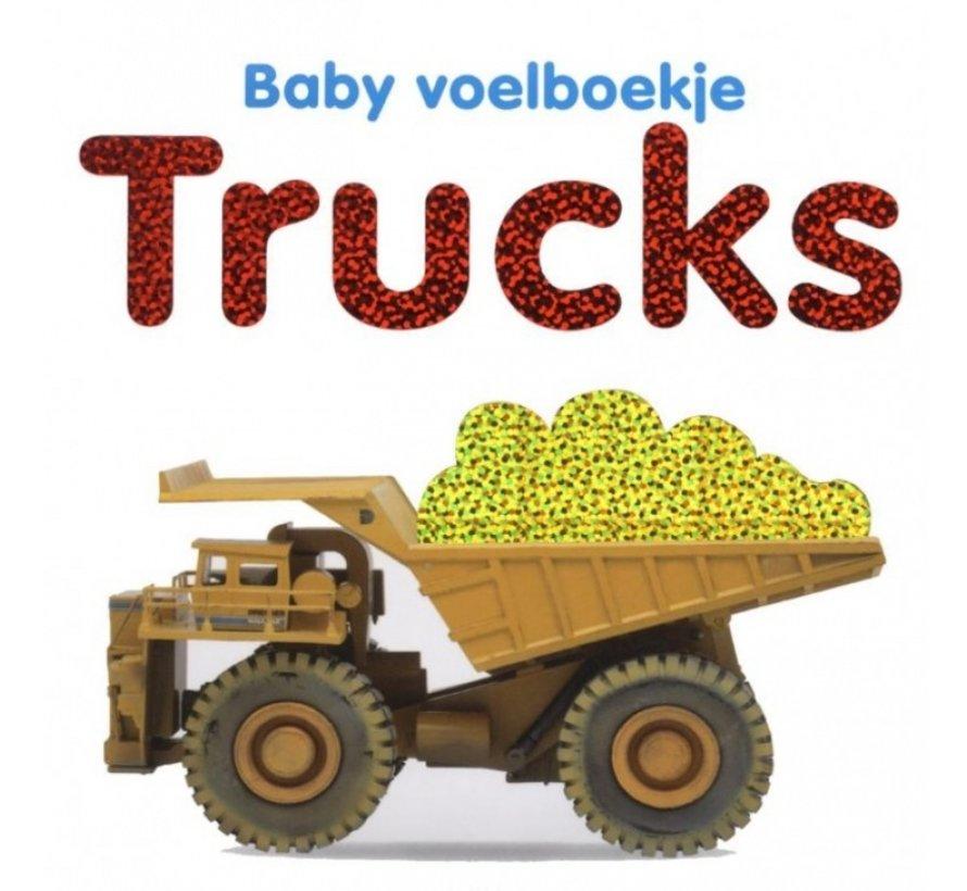 Baby voelboekje Trucks