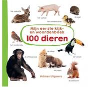 Veltman Uitgevers Mijn eerste kijk- en woordenboek 100 dieren