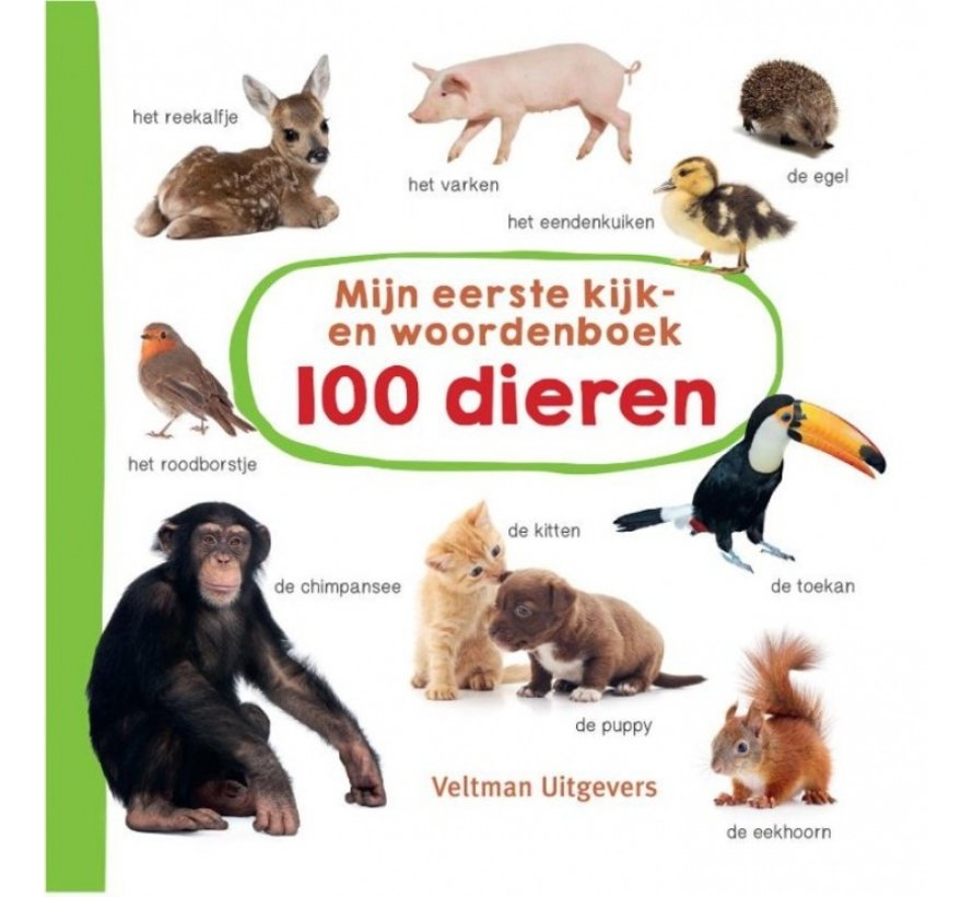 Mijn eerste kijk- en woordenboek 100 dieren