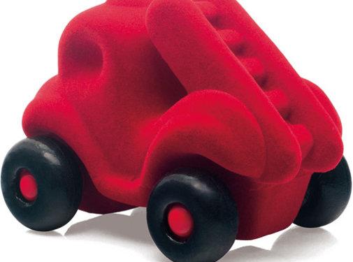 Rubbabu Brandweerauto Rood Klein