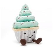 Jellycat Knuffel Minty Cutie Cupcake