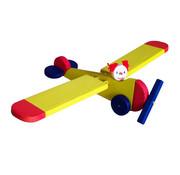 Van Dijk Toys Zweeffiguur Vliegtuig